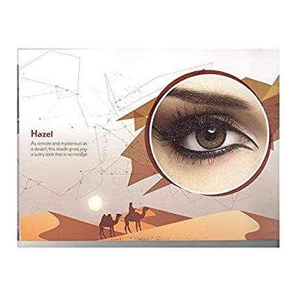 0a13f7f881b Buy Bausch   Lomb Natural Look Colour Contact Lens with Case (Hazel Color)  - Pack of 2 Pieces Online at Low Prices in India - Amazon.in
