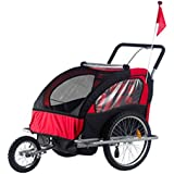 n-bright shop Stroller Baby Bike Trailer Bicycle Double...