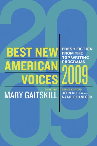 Read Online Best New American Voices 2009 pdf