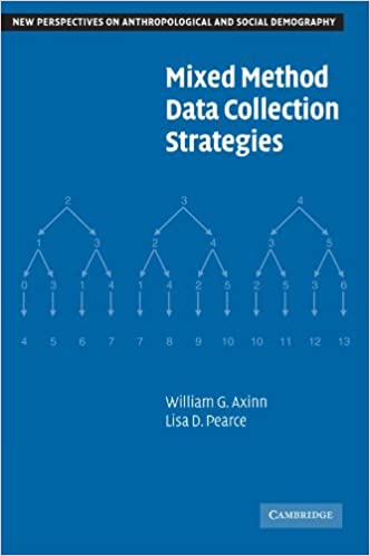 Mixed Method Data Collection Strategies (New Perspectives on Anthropological and Social Demography)