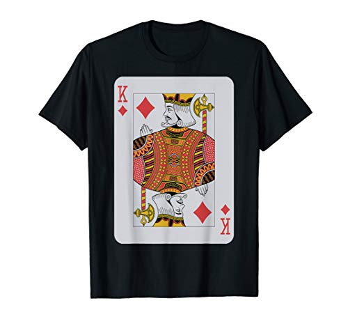 King of Diamonds T-Shirt Poker Luck Player Winner Costume]()
