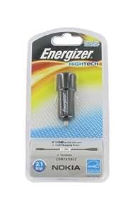 Energizer LCHEHC2UNO2 HighTech - Cargador para encendedor de automóvil para smartphone Nokia (2 puertos USB, 2,1 A)