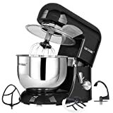 CHEFTRONIC Tilt-head Stand Mixer 120V/650W 5.5QT SM986-Black