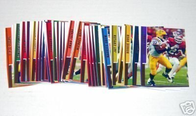 2006 Press Pass Signature Edition Football Cards Complete Set of 40 Top Draft Picks (Includes Rookie Cards of Reggie Bush, Vince Young, Jay Cutler, Matt Leinart, Mario Williams, Laurence Mulroney & more)