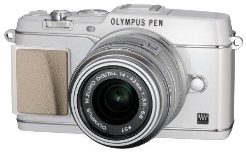 オリンパス ペンEP5 ホワイト レンズキット M.ズイコー デジタル1442mm F3.55.6 II R