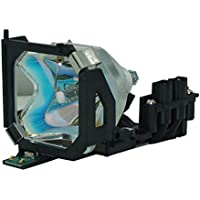 AuraBeam Economy Epson ELPLP14 Projector Replacement Lamp with Housing