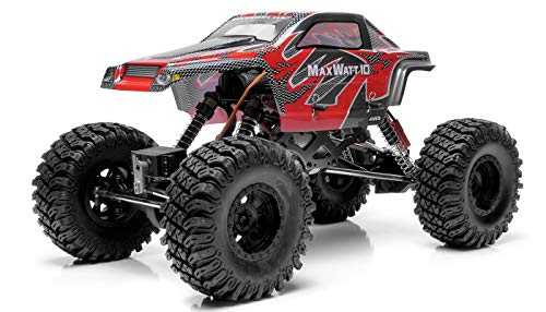 Exceed RC Rock Crawler Radio Car 1/10 Scale 2.4Ghz Max Watt 4WD Electric Remote Control 100% RTR Ready to Run with Waterproof Electronics