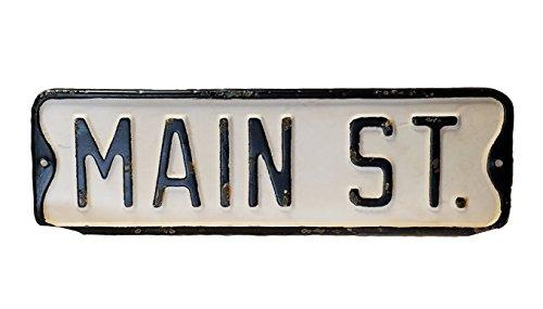Vintage Street Sign (Main St.)
