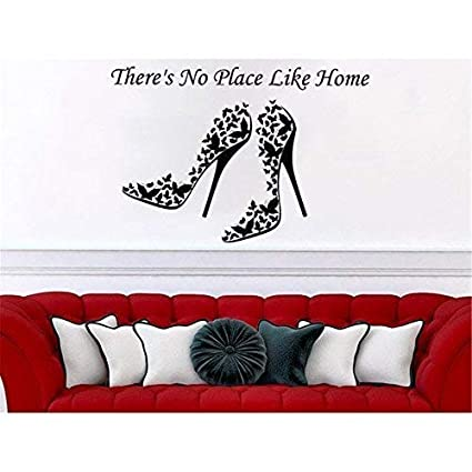 Amazoncom Theres No Place Like Home Quotes Wall Stickers Wall