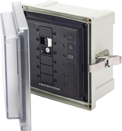UPC 632085031169, Blue Sea Systems 120VAC ELCI 30A Surface Mount System Enclosure