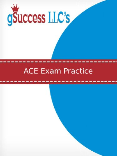 Amazon ace personal trainer exam practice ace practice test ace personal trainer exam practice ace practice test and exam review for the american council fandeluxe Gallery
