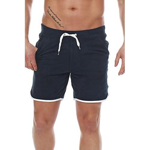 Pantalón corto bermudas de hombre de tela azul oscuro S outlet ... 18b05a05e090