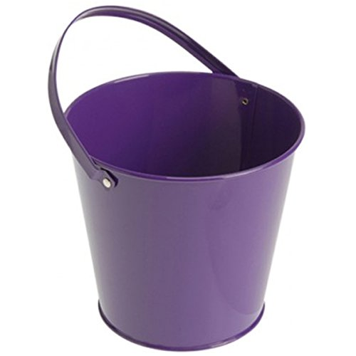 U.S. Toy Metal Bucket - Purple (6) ()