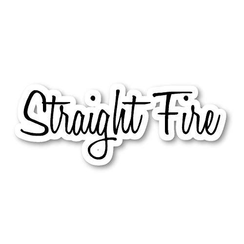 Straight Fire Sticker Trendsetter Collections Stickers - Laptop Stickers - Vinyl Decal - Laptop, Phone, Tablet Vinyl Decal Sticker S29850 (Vinyl Collection Decals)