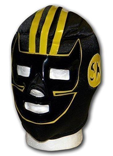 WRESTLING MASKS UK Men's September Mexican Lucha Wrestling Mask One Size Black by Wrestling