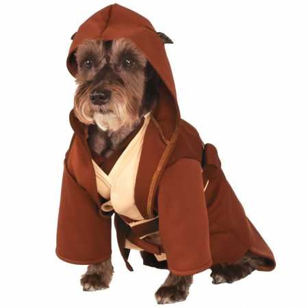 Rubie's Star Wars Classic Jedi Robe Pet Costume, Large ()