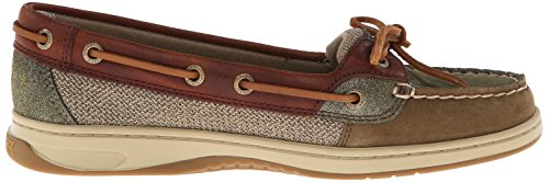 Sperry Top-sider Gilet À Enfiler Pour Femme Angelfish Olive / Cognac