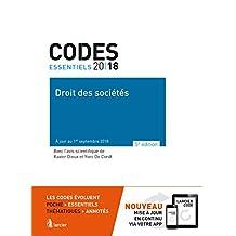 Code Essentiel-droit des Sociétés 2018 5e Éd.