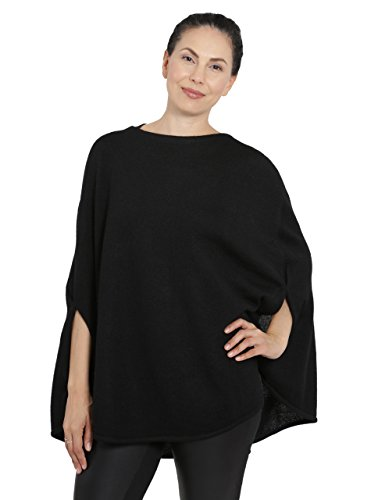 Incredible Natural Creations from Alpaca - INCA Brands Hailey Baby Alpaca Belle Poncho (Black)