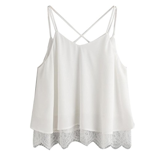 Sleeveless White Shirt: Amazon.com