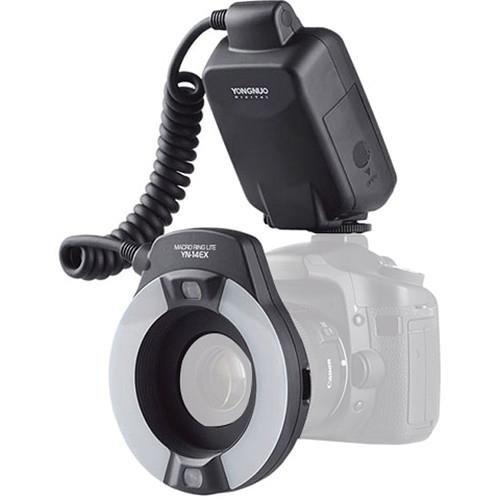 Yongnuo YN-14EX TTL Macro Ring Lite Flash Light for Canon Cameras by Yongnuo
