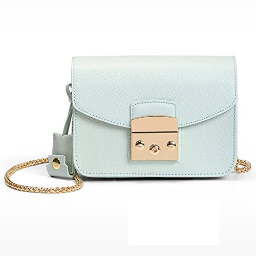 Crossbody Mini Shoulder Metropolis Lblue Cow Purse Women Sak Bag Genuine Actlure Leather SqO7Uaz