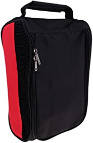 Prettyia Portable Golf Shoes Bag Case Pouch Storage Organizer for Men & Women Yellow/Green/Blue/Black