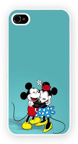 Mickey and Minnie Mouse, iPhone 5C, Etui de téléphone mobile - encre brillant impression