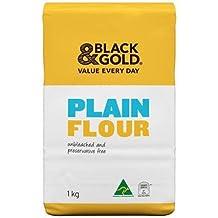 Black & Gold Plain Flour 1kg x 12