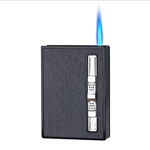 10-Cigarettes-Pack Waterproof Lighter Cigarette Case 28