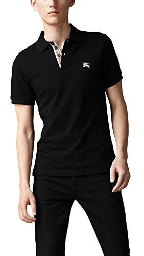 Burberry Checked Placket Polo Shirt