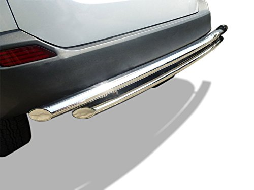 Kasei 047018SS-DL Stainless Steel Rear Bumper Guard – Double Layer