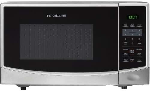 Frigidaire FFCM0934LS 900-watt Countertop Microwave, 0.9 Cubic Feet, Stainless Steel