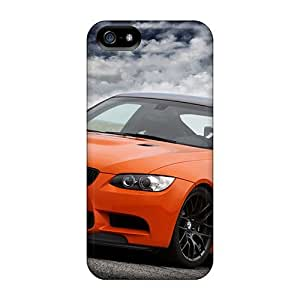 Iphone 5/5s Cases Covers - Slim Fit Tpu Protector Shock Absorbent Cases (bmw M3 Gts)