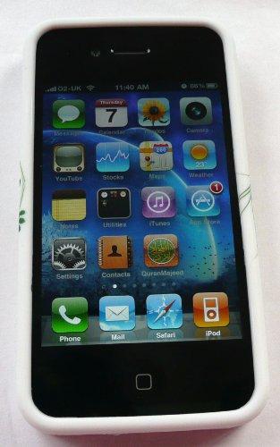 Emartbuy Apple Iphone 4/4G Gel Hd Silicon Case / Cover / Skin-Herzen