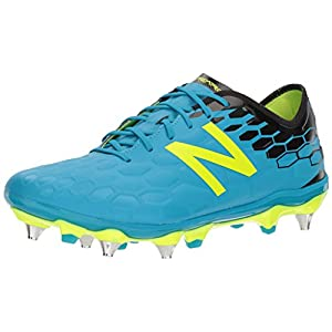 New Balance Men's Visaro 2.0 Pro SG Soccer Shoe, Maldives/Hi Lite, 10.5 2E US