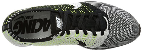 Running White Black Flyknit Shoes Men's Racer White Nike wxq8BO7tx