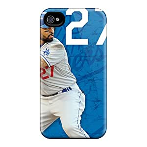 Scratch Resistant Cell-phone Hard Covers For Iphone 6plus With Allow Personal Design High Resolution Los Angeles Dodgers Pattern ErleneRobinson