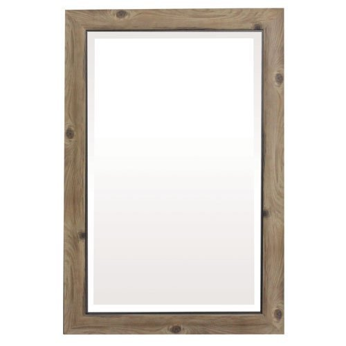 Yosemite Home Decor Yosemite Mirrors, Medium, - Barnwood Framed Mirrors Bathroom