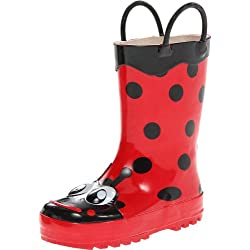 Western Chief Kids Ladybug Rain Boot(Toddler/Little Kid/Big Kid),Red,11 M US Little Kid