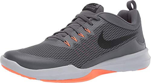 - Nike Legend Trainer Men's Training/Running Shoes (12 M US, Pure Platinum/Black/Orange)