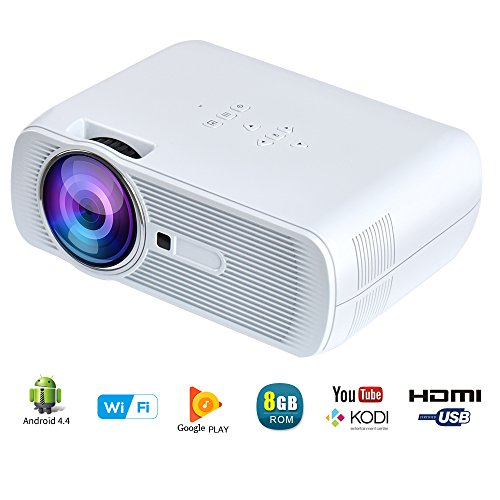 Yuntab Wireless Projector BL80 WiFi White