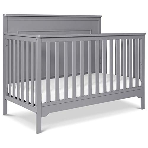 Carter's by DaVinci Dakota 4-in-1 Convertible Crib, Grey