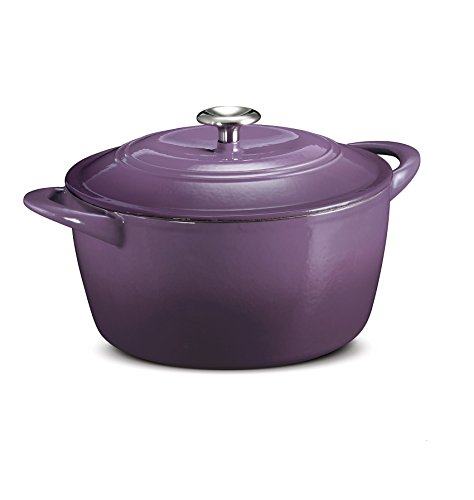 Tramontina Enameled Cast Iron Dutch Oven Purple