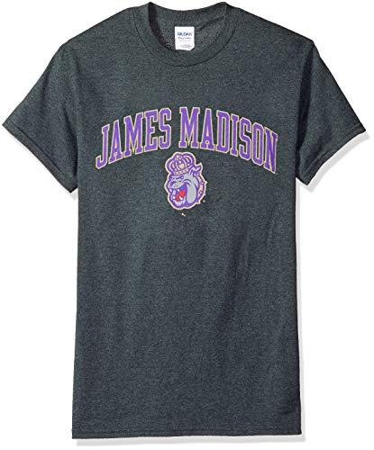 Dukes Classic T-shirt - Elite Fan Shop NCAA James Madison Dukes Mens NCAA T Shirt Dark Heather ArchNCAA T Shirt Dark Heather Arch, Dark Heather, Medium