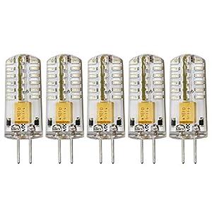 Colour Blue G4 LED Light Bulbs 2.5W AC/DC 12V Bi-Pin Base Light Lamp Equivalent to 20W Halogen Led 48×3014 SMD Not…