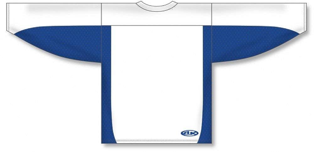 Customization Depot White Royal League Plain Blank Hockey Jerseys