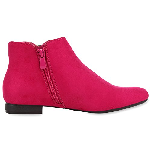 napoli-fashion - Botas Chelsea Mujer Rosa