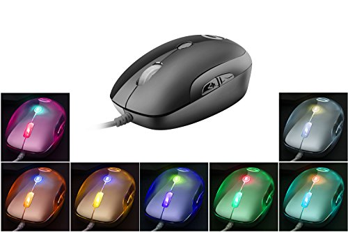 Gaming Mouse, UtechSmart Neptune 2400 DPI High Precision Gaming Mouse- Space Grey