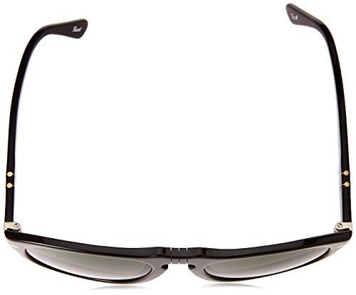 Men's Sunglasses Round Gloss Black Persol 0po0649 twBxY8d